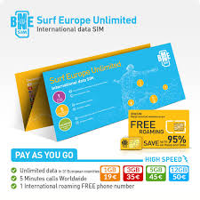 european phone number format bnesim surf europe unlimited unlimited gb of data in the european