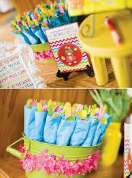Organized utensils.