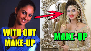shocking 10 indian television actresses makeup look you won t believe