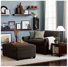grey walls with brown furniture. small couch crate and barrel grey walls with brown furniture a