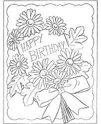 Small Picture BlueBonkers Kids Birthday present Coloring Page Sheets