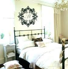 master bedroom metal wall art