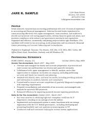 tax accountant resume resume badak
