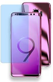 Amazon.com: Omorro for Galaxy S9 Chrome 360 Degree Full Body ...
