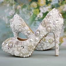 online get cheap handmade rhinestone wedding shoes aliexpress com Wedding Shoes Handmade handmade white wedding shoes bridesmaid bridal shoes women rhinestone shoes high heels pumps size 61 wedding shoes handmade