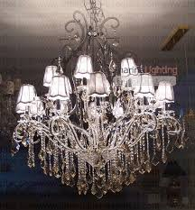 chandeliers with shades lighting ideas