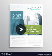 Modern Brochure Design Company Brochure Design Template In Clean Modern Vector Image 17