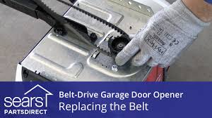 garage door opener repair partsReplacing the Belt on a BeltDrive Garage Door Opener  YouTube
