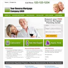 mortgage flyer template reverse mortgage website templates