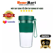 ⭐Máy Xay Sinh Tố cầm tay Remax RT-KG03 (Hàng chính hãng - Bảo hành 6 tháng)  - HomeMart: Mua bán trực tuyến Máy xay sinh tố với giá rẻ