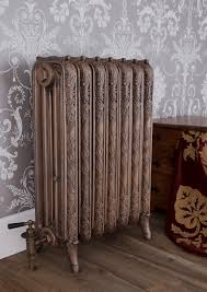 The Ribbon is one of a range of cast iron hand assembled reproduction  radiators in the traditional, antique, salvaged style.
