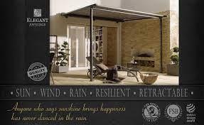 all weather awnings uk sun and rain