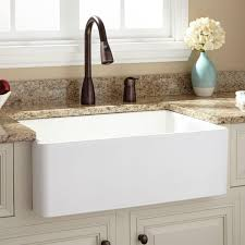 30 inch single bowl farm sinks for kitchens in white