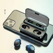 Tai nghe bluetooth Lanith F9 Pro 5.0 - Tai nghe nhét tai kết nối không dây  phiên bản quốc tế - Âm bass êm và sâu, chip AIC chống gây chói tai -