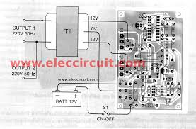 how to build the watts home inverter projects electronic connecting wires of 200w inverter using sg3526
