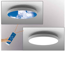 Relocate Ceiling Light Remote Control Moving Led Sky Panels Sky Panel Lighting