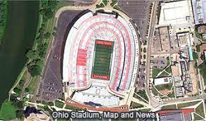 Ohio State University Horseshoe Stadium Seating Chart Geometry In The Real World Ohio Stadium Ohio State