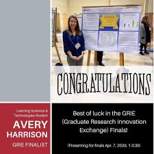 WPI Social Science & Policy Studies - Great job to our SSPS LS&T grad  student Avery Harrison for moving on to the finals for #grie @wpi!  Excellent work. | Facebook