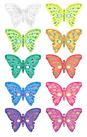 Outline Of Butterfly For Colouring Butterfly Printable Butterfly