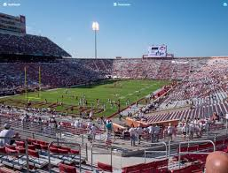 Gaylord Family Oklahoma Memorial Stadium Section 40 Seat