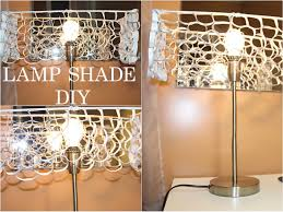 Diy Lamp 125 Lamp Shade Diy Recycled Goldenpoise Youtube