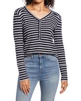 Discover Deals on Women's Rails Avery Henley Top, Size X-Small - Ivory