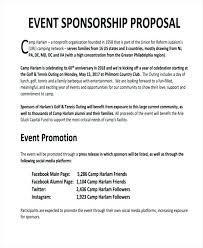 Proposal Letter For Sponsorship Sample For Event Sample Proposal Letter For Sponsorship Company Anniversary