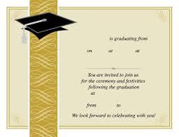 Templates For Graduation Invitations 30 Free Graduation Invitations Template Andaluzseattle