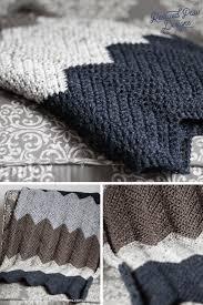 Crochet Blanket Pattern Classy Chevron Crochet Blanket Pattern Crochet Chevron Pattern