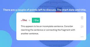 Sentence Fragments Grammarly Spotlight When To Fix Sentence Fragments Grammarly