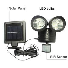 Vinokuro Afstandsbediening 22 Led Solar Licht Lantaarn Zonne Energie