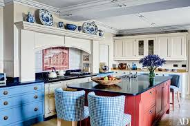 Blue Kitchen Designs Classy 48 Kitchens With Colorful Accents Photos Architectural Digest