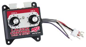 msd 8735 launch control module selector msd performance products 8735 launch control module selector image