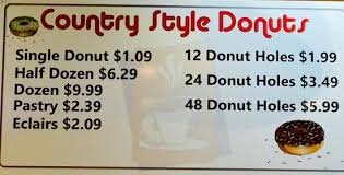 Country Style Donuts