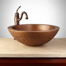 copper vessel sinks. Brilliant Vessel 18 To Copper Vessel Sinks L