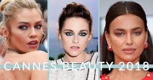 cannes beauty 2018 our favorite makeup looks part1
