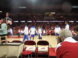 Kohl Center Section 123 Row Bb Seat 1 2 Wisconsin