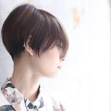 丸顔さん向けセミロングパーマで大人の愛されヘアに Hair