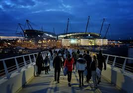 Manchester City's Etihad Stadium - Cellnex