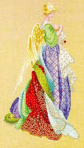 Angel Cross Stitch Patterns Awesome Lavender And Lace In The Arms Of An Angel Cross Stitch Pattern
