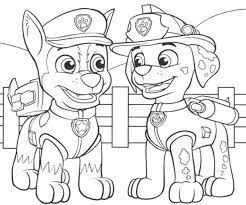 Amazing Chic Free Coloring Pages Paw Patrol Chase Fresh Design Skye