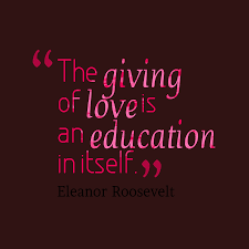 Eleanor Roosevelt Quote About Love
