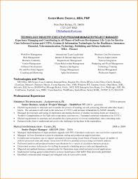 Agile Project Manager Resume Sample Resume Of A Software Project Manager Danayaus 6
