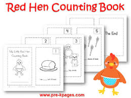 Small Picture Free Printables Little Red Hen Printable Set Red hen Hens and