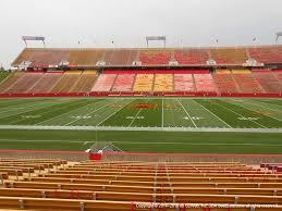 Isu Stadium Seating Chart Jack Trice Stadium View From Lower Level 9 Vivid Seats