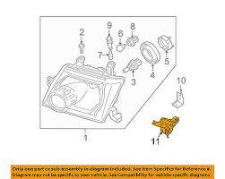 Nissan Oem 10 15 Xterra Headlight Head Light Lamp Lower