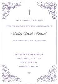 first communion invitation templates