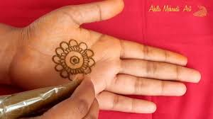 Simple And Easy Henna Designs For Hands Mandala Mehndi Design For Front Hands New Simple And Easy