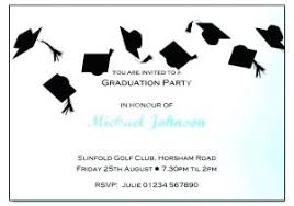 Free Graduation Party Invitations Combined With Graduation Party