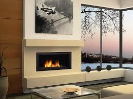 amazing modern gas fireplace